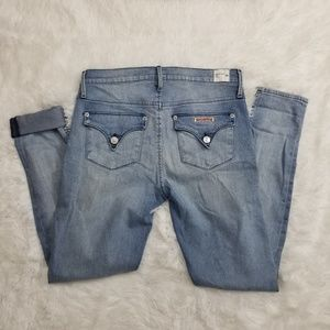 Hudson Lilly Mid Rise Ankle Skinny SZ 28 EUC